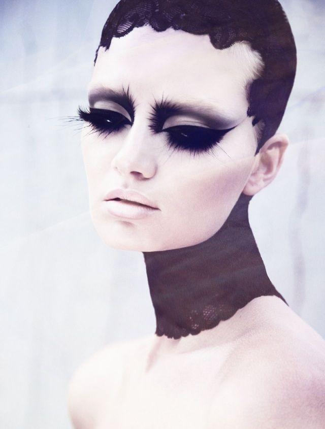 tyylikäs ammatillinen meikki Halloween Pictures Ideoita Women