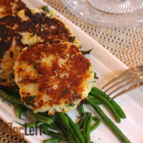 Parmesan Mashed Potato Patties-- my Grandpa taught me how to do this with leftovers. Yum!!