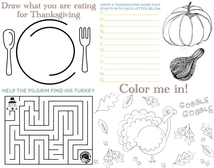 40 best kids placemats images on Pinterest