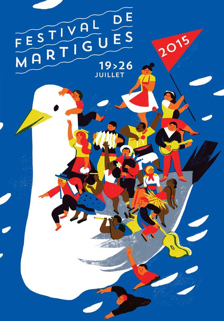 Festival de Martigues Poster - edition 2015