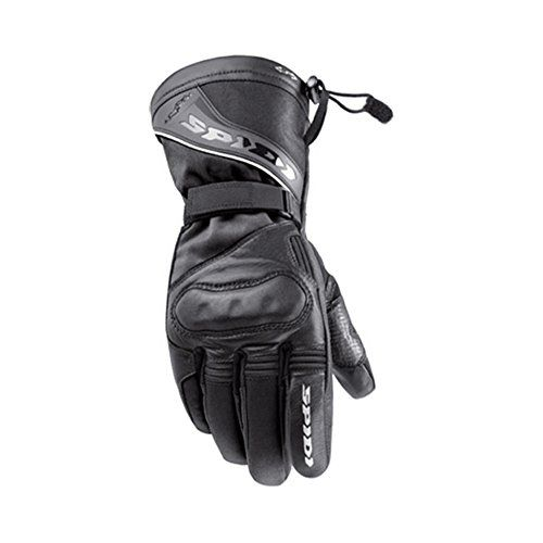 Special Offers - Spidi NK-3 Mens Leather Street Bike Racing Motorcycle Gloves  Black / Medium - In stock & Free Shipping. You can save more money! Check It (November 28 2016 at 11:32AM) >> http://motorcyclejacketusa.net/spidi-nk-3-mens-leather-street-bike-racing-motorcycle-gloves-black-medium/