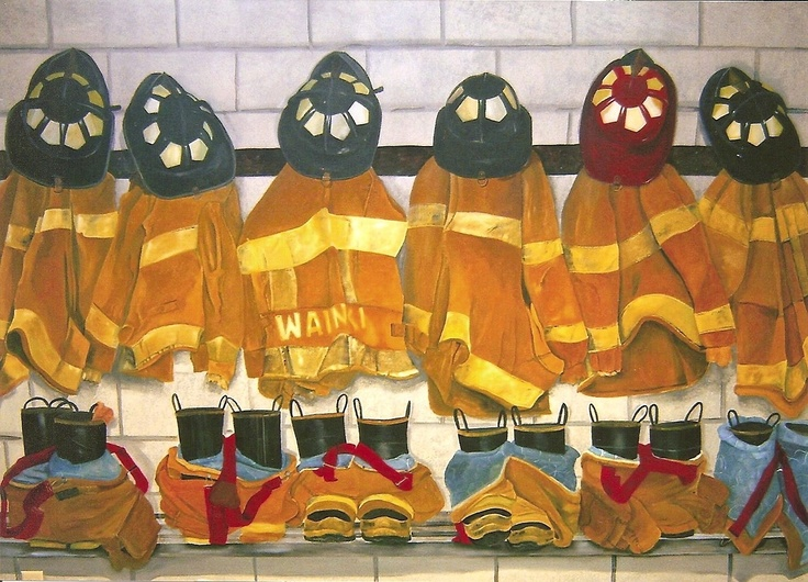 21 best Public Art Murals Firefighting Fire Engines images on
