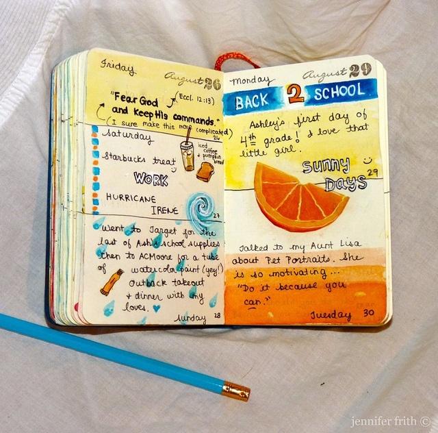 great journal art: Planners Journals Art, Art Journals, August Journaling, August Recipe, Smash Journal, Jenny S Sketchbook, Books Journaling, Art Journaling