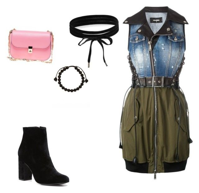 """""""look inverno"""" by anaradja on Polyvore featuring Dsquared2, Valentino, Witchery, Link Up and Boohoo"""