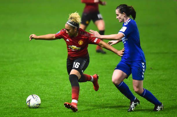 Lauren James Of Manchester United Women In Action During The Fa Wsl Manchester United Lauren James Manchester
