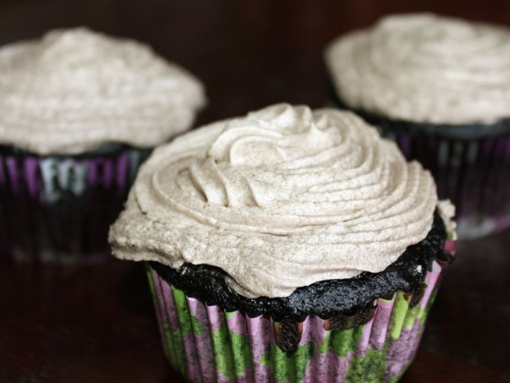 Kahlua and Bailey's in a chocolate cupcake? Yes please!