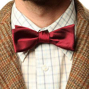 ThinkGeek :: Doctor Who 11th Doctor's Bow Tie