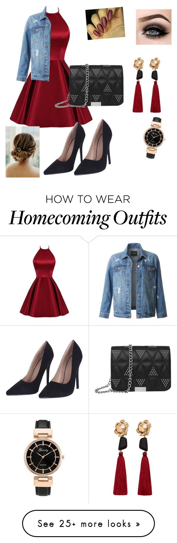 """""""Untitled #1"""" by lilsmithy50 on Polyvore featuring LE3NO, ASAP and MANGO"""