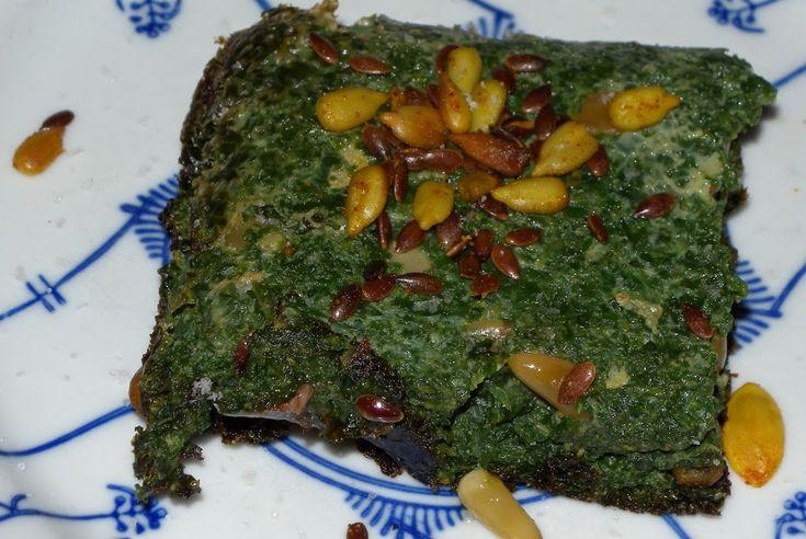 Spinazietaart - Glutenvrij   Vandaar dit idee voor een spinazietaart. Spinazie wordt veel gebruikt in quiche en souffles, maar vaak wordt er dan bloem of de