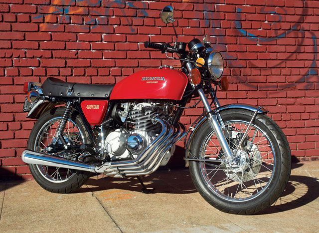 In Love with the Honda CB400F – Classic Honda Motorcycles