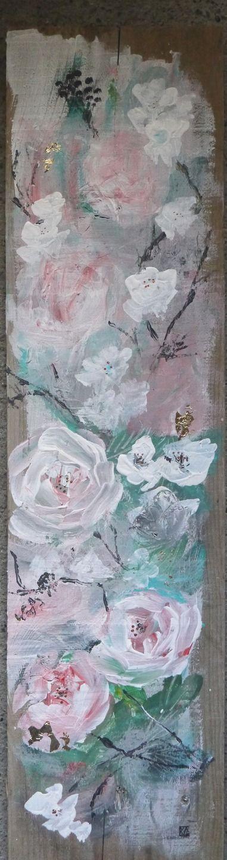 art contemporain original, peinture moderne, acrylique sur bois : Peintures par cyane-art-contemporain