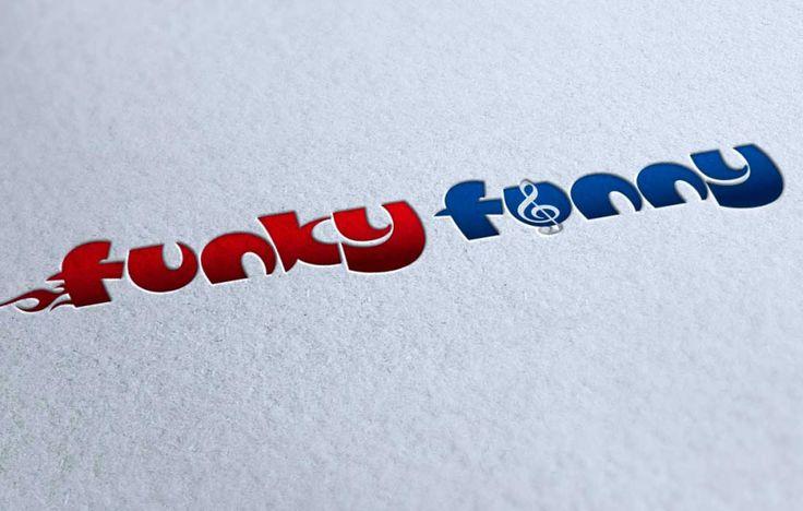 Логотип для студии Funky Fanny - концертной деятельность г. Иркутск