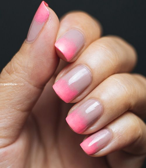 This is the perfect way to refresh a days-old mani that's starting to chip. We love the summery neon pink that Rathy from Petite Peinture used here. For fall, pick soft navy or burgundy. Get the tutorial from Petite Peinture »  - GoodHousekeeping.com