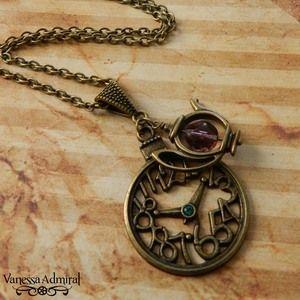Wonderland Inspired 'Time 4 Tea' Necklace