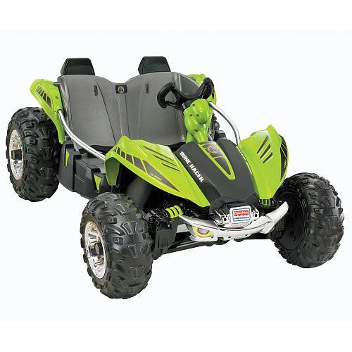 Power Wheels Dune Racer 12 Volt Ride On Green Green