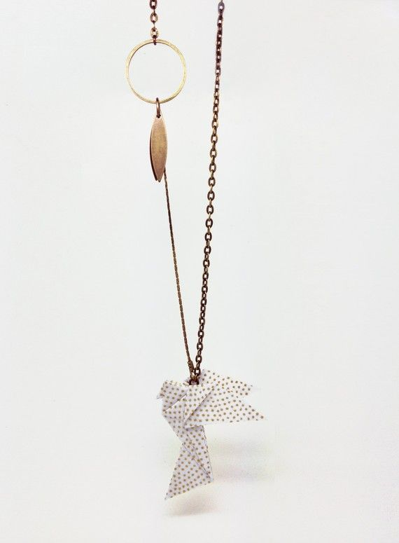 collier KOTORI origami