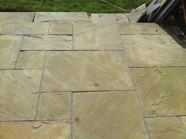 sandstone pavers garden patio designs uk 783x587 Patio Ideas On A Budget Designs