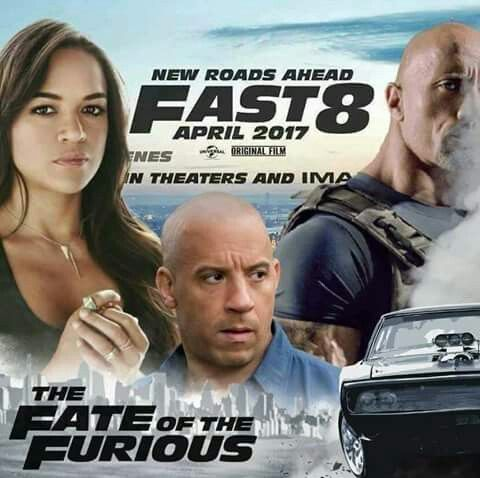 #fast_and_furious #series #fast8 #the_fate_of_furious #trailer #release #hollywood #cinema #news #pepperwoods #like #share