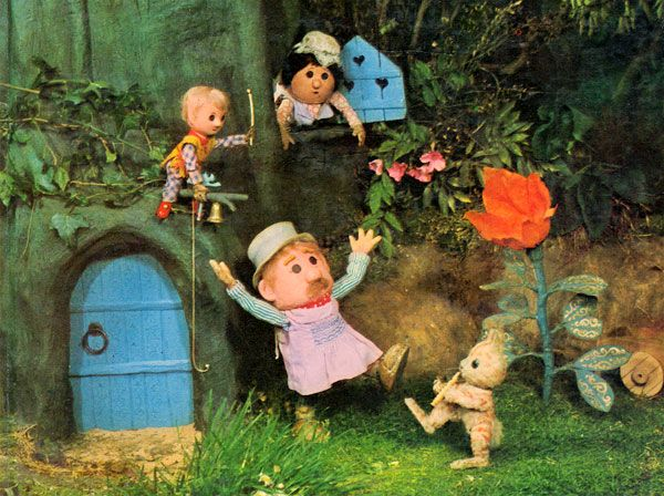 Blast from the Past: Pogles' Wood - Carter Collectables - The Pogles, Pogles' Wood, Pogles Wood, Pogle, Mrs Pogle, Pippin, Tog, BBC, Watch with Mother, TV, 1960s, 1966, 1967, 1968, animation, children's TV