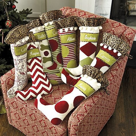Whimsical Christmas Stocking Pattern and Tutorial | Positively Splendid {Crafts, Sewing, Recipes and Home Decor}