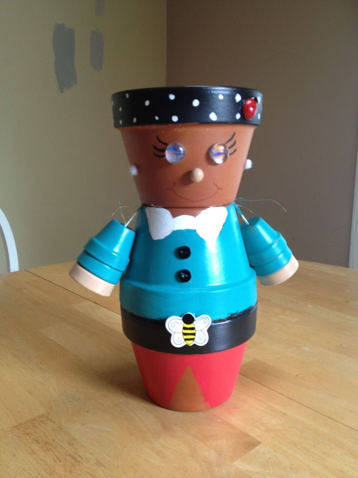 Clay Pot People | Clay pot people | terra cotta pots