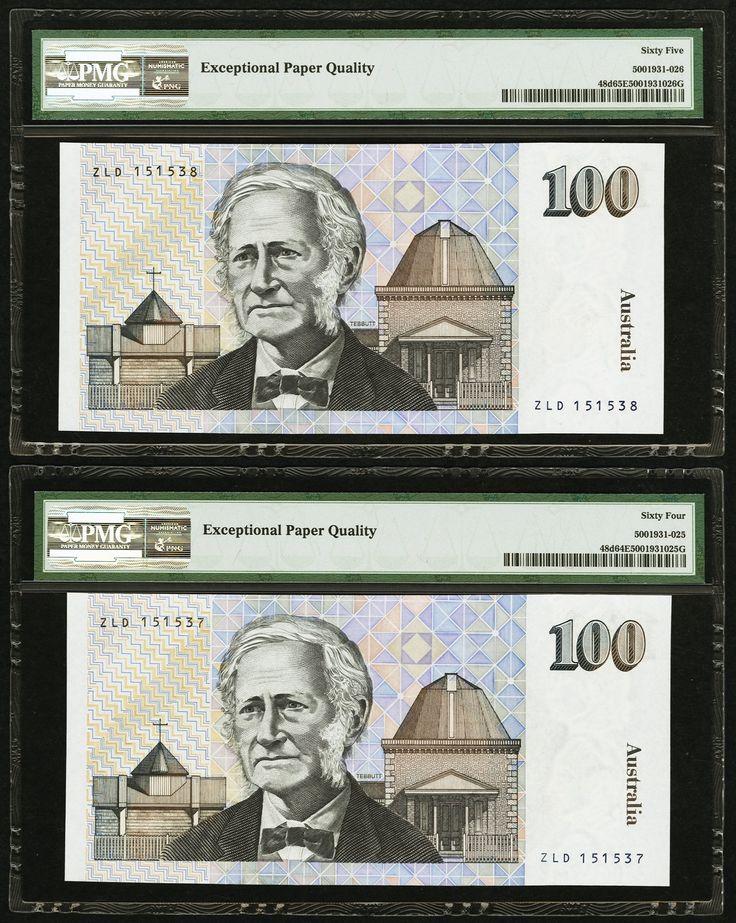 Australia Reserve Bank $100 ND (1992) - 2