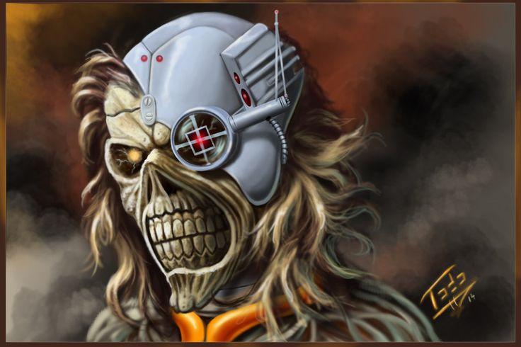 Eddie The Head by TodoArtist.deviantart.com on @DeviantArt