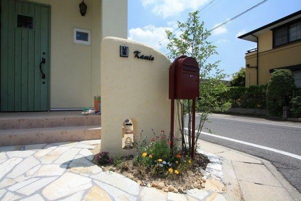 洋風住宅に合うかわいいデザイン みよし市|愛知県|外構・エクステリア|ディーズガーデン