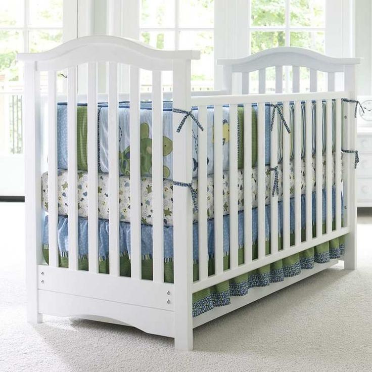 Bonavita Hudson Collection Classic Crib (Classic White)