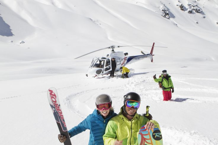 Let the adventure begin, combine helisking with a week in Portillo, Chile