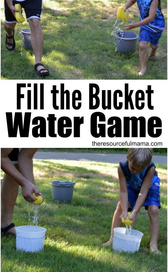 How To Fill A Bucket In Minecraft : bucket, minecraft, Bucket, Outdoor, Water, Compensated, Collective, Bias,, Summer, Games,, Games, Kids,