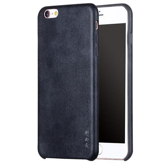 Black Thin Leather iPhone Back Case