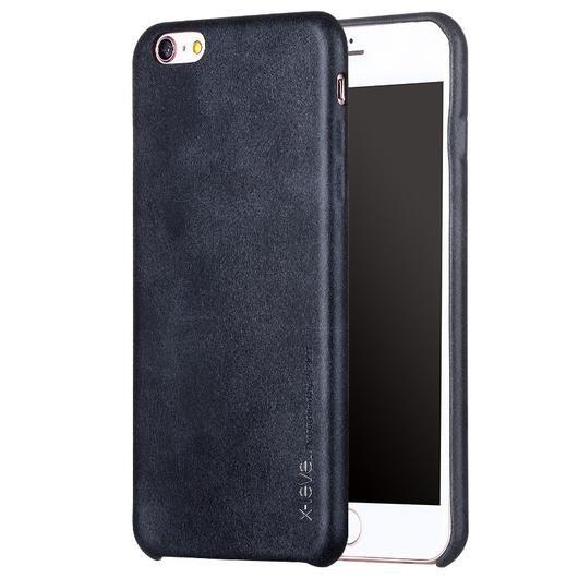 Black Thin Leather iPhone Back Case