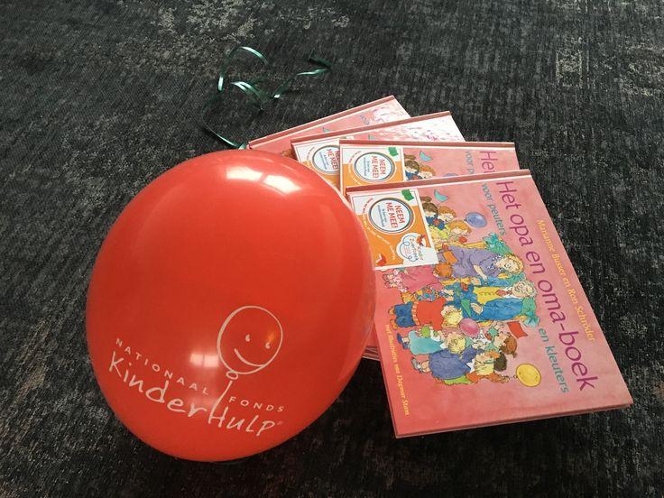 Kinderzwerfboeken mede mogelijk gemaakt door Rotary club Amstelveen Amstelland