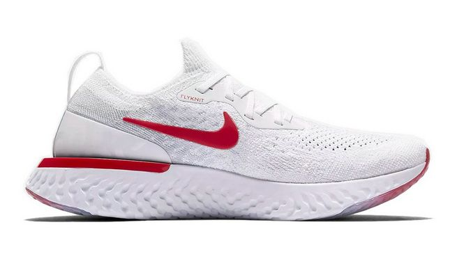 huge discount c5c4e 1f2f6 Cheap Nike Epic React Flyknit White Red | 6- Adidas YEEZY BOOST ...