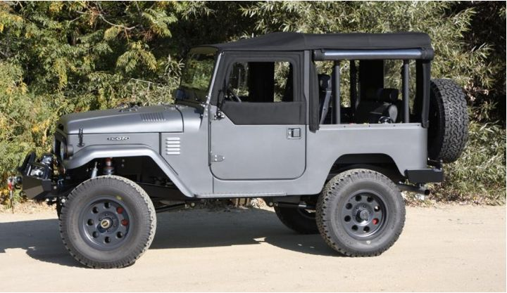 The Amazing Icon FJ140. Listed in Best Road Trip Cars And Where I'd Drive Them by Trevor Morrow Travel