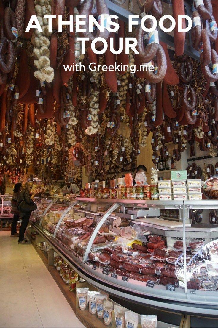Athens food tour with Greeking.me:
