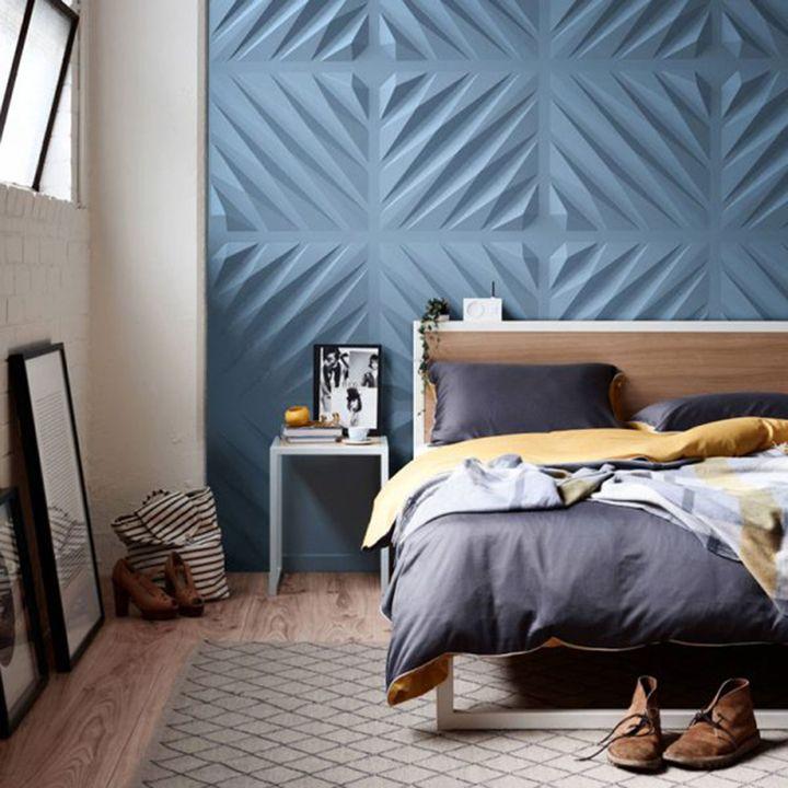 Gallery Of Wall Panels Diagonal 5 Small Bedroom Decor Cool Room Decor 3d Wall Panels