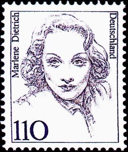 Resultado de imagem para SELO DE Marlene Dietrich
