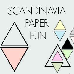 Scandinavia paper fun