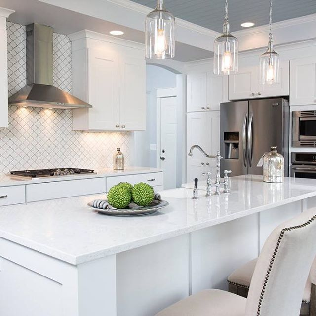 Contemporary Cottage Style Kitchen: 90 Best Images About Viatera Kitchens On Pinterest