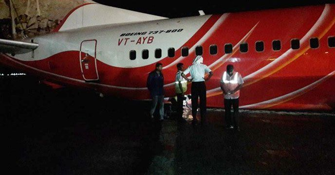Kochi: A Kochi bound Air India Express flight from Abu Dhabi which landed at 2.40 am skidded off the taxiway while approaching the apron. All 102 passengers on board were safely evacuated from the aircraft. According to CIAL PRO, Air India Express flight (IX 452) from Abu Dhabi to Kochi touched...