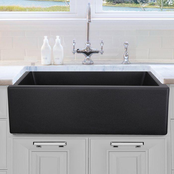 Nantucket Sinks 30 L X 18 W Farmhouse Kitchen Sink Reviews Wayfair Farmhouse Sink Kitchen Apron Sink Kitchen Tuscan Kitchen
