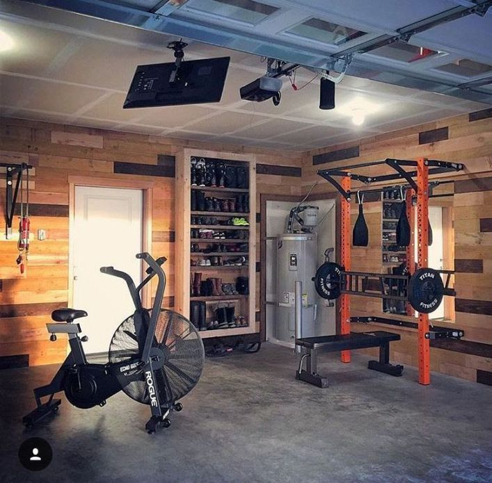 27 Modern Small Home Gym Room Design Ideas 99dezigns Home Gym Decor Small Home Gyms Gym Room At Home