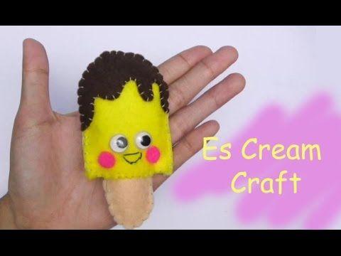 DIY Es Cream Doll Craft Yellow | American Girl Doll Dollhouse Crafts | E...