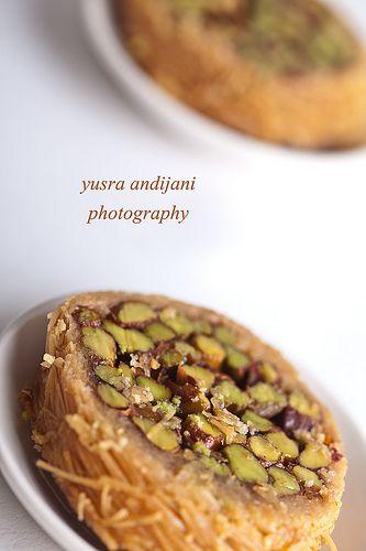 Arabic dessert konafa