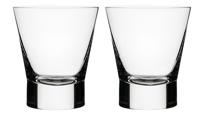 iittala Old-Fashioned Drinking Glasses - Set of 2 These are so sleek and sophisticated looking