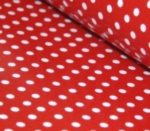 Red polka dot table runners at http://thecompletekidsparty.com.au/party-tablesetting/patterned-table-runners/
