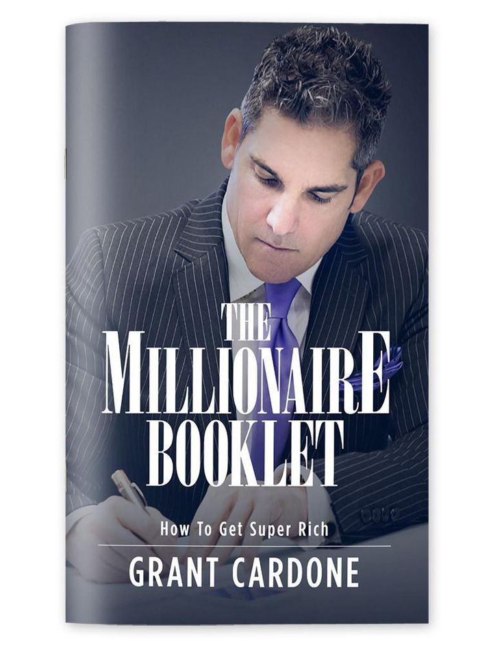 Buy now for just $0.99 Grant Cardone wants to simplify the process of becoming a millionaire and, if you want, even super rich.  The eight steps Grant Cardone lays out is in a very simple to understand language that will allow you to get started today in creating the money you deserve. sales training tips how to make sales cold calling