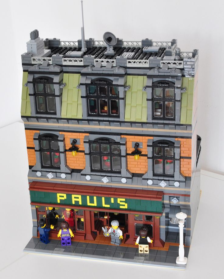Hey everyone, I would like to present my newest modular building: A modular tailor. The building features a tailor on the lowest level with a variety of clo...